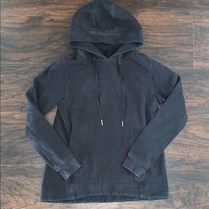 Lululemon Black Hoodie Sweatshirt Pullover size 2
